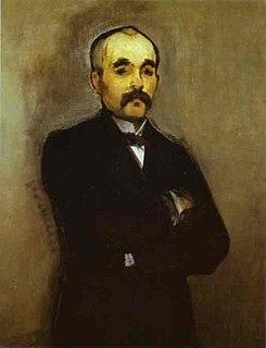 Portrait of Clemenceau (Manet, Paris) 1879–80 painting by Édouard Manet