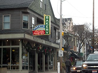 University Circle - One of Little Italy's best known culinary landmarks, Presti's Bakery, sits at the corner of Mayfield and Coltman
