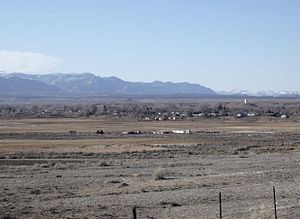 Cleveland, Utah - Cleveland as seen from the south