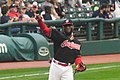 Cleveland Indians 22nd Consecutive Win (37272095725).jpg