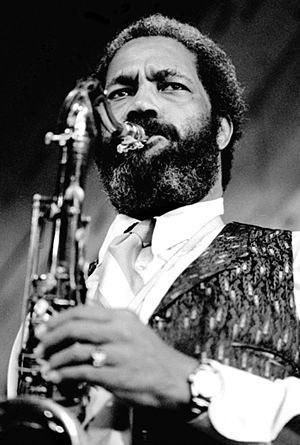 Clifford Jordan - Jordan performing with Barry Harris in 1980