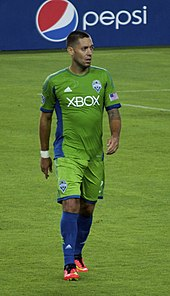 Dempsey in a Sounders uniform