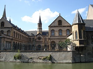 Alexis de Tocqueville - The Fabert School in Metz, where Tocqueville was a student between 1817 and 1823