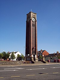 Clock tower, Coalville - geograph.org.uk - 213200.jpg