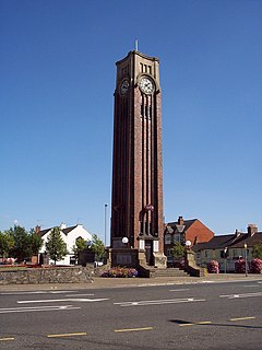 Clock tower, Coalville - geograph.org.uk - 213200.jpg