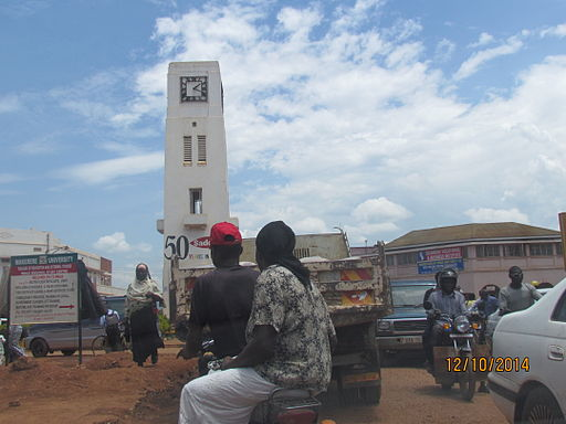 Clock tower mbale