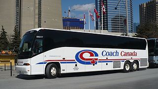 Canadian commercial intercity bus company