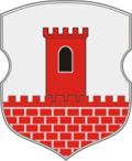 Coat of Arms of Kamianiec, Belarus.png