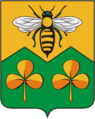 Coat of Arms of Sandovo rayon (Tver oblast).png