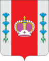 Coat of Arms of Volodarskoe (Moscow oblast).png