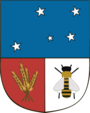 Coat of arms of Colonia Department.png