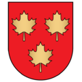 Coat of arms of Lentvaris.png