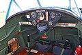 Cockpit of Blackburn B2 'G-AEBJ' (30419436834).jpg