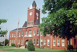 Elba, Alabama - Coffee County Courthouse in Elba