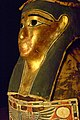 Coffin and Mummy of Esmin Ptolemaic Period 305-30 BCE Said to be from Akhmim gessoed gilded wood and cartonnage (1) (1042157632).jpg