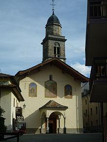 La chiesa parrocchiale dedicata a Sant'Orso