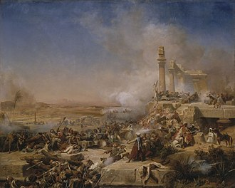 Heliopolis (ancient Egypt) - Battle of Heliopolis during Napoleon's invasion of Egypt in 1800