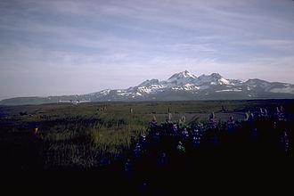 Frosty Peak Volcano - Frosty Peak Volcano, a stratovolcano at the southwest end of the Alaska Peninsula