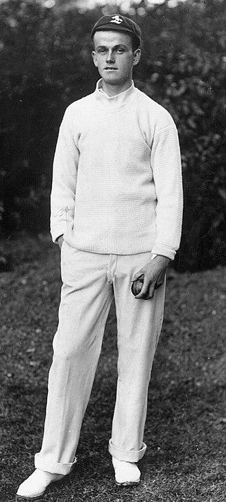 Colin Blythe - Blythe c. 1905