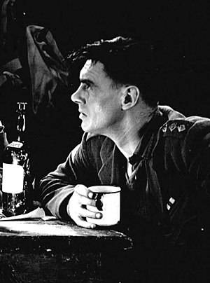 Journey's End - Colin Clive as Stanhope in the 1929 production of Journey's End, directed by James Whale