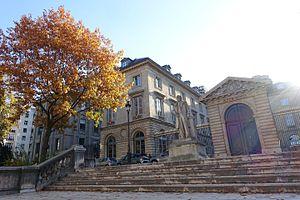 Patrick Boucheron - The Collège de France, where Boucheron teaches history.