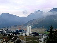 Sestriere in September 2006