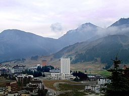 Sestriere i september 2006