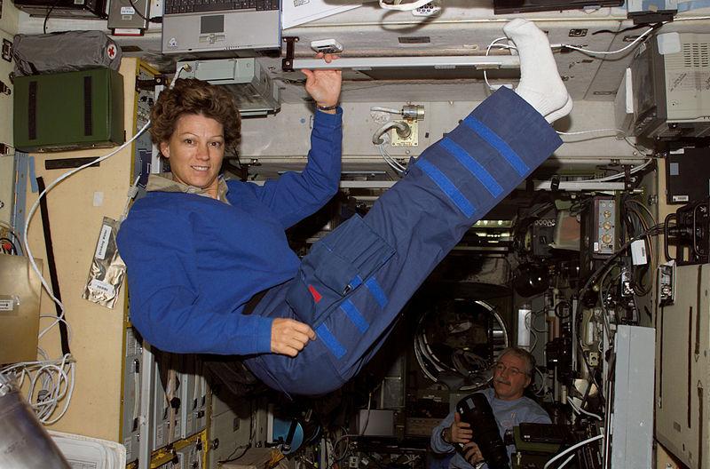 Eileen Collins, première femme pilote dans l'espace