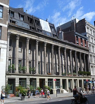 Lafayette Street - Colonnade Row (1832)