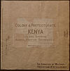 100px colony %26 protectorate of kenya. %28womat afr bea 275 21%29