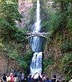 Columbia River Gorge, Multnomah Falls 8-30-13q (10004136413).jpg