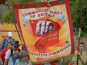 Communist Party of Britain - Executive Committee group in the 2016 Tolpuddle Martyrs' Rally