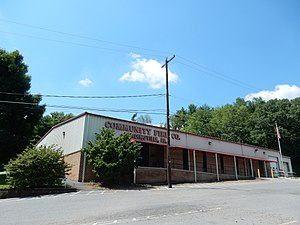 Landingville, Pennsylvania - Image: Community Fire Co, Landingville PA
