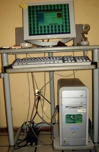 Vaio - A Sony Vaio RS desktop computer