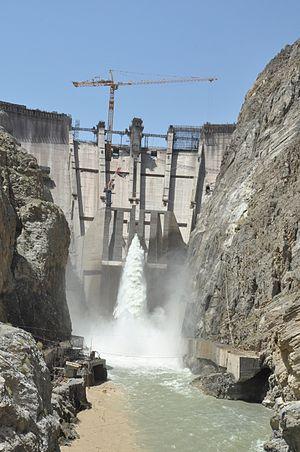 Gomal River - The Gomal Zam Dam was inaugurated in 2013.