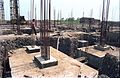 Convention Centre Complex Under Construction - Science City - Calcutta 1994-May 005.JPG