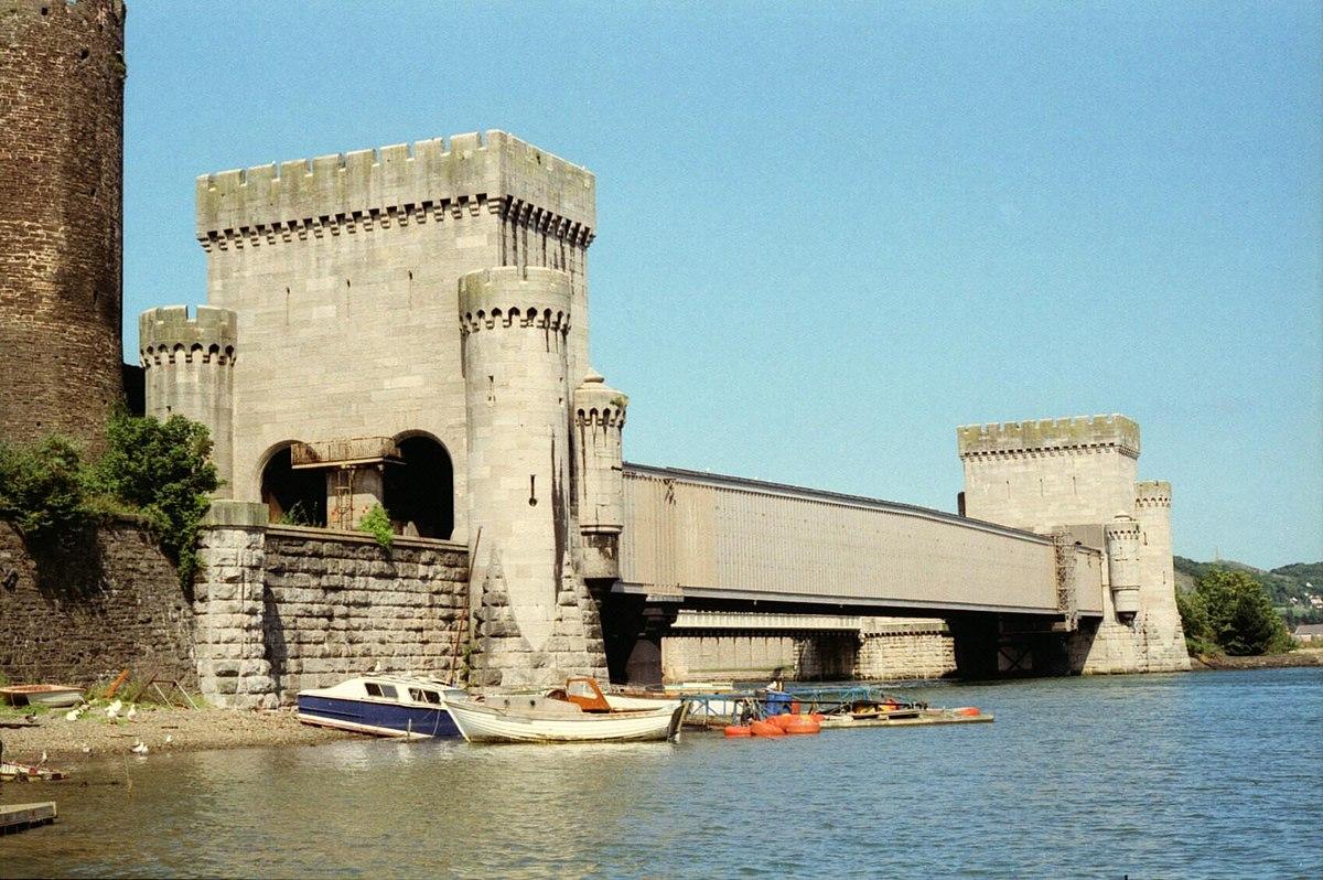 Conwy Railway Bridge - Wikipedia