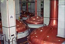 Tini di bollitura alla Coors Brewing Company.