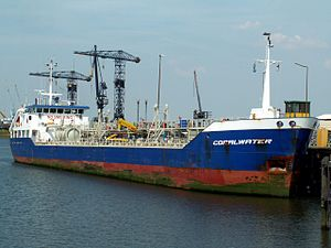 Coral Water IMO 9004164 docked at the Botlek harbour 18-Jun-2006.jpg