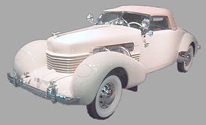 Hidden headlamp - Image: Cord Front Drive Model 812 (1937)