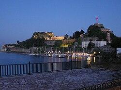 Corfu citadel