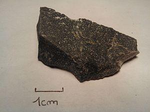 Hornfels - Hornfels sample (Normandy, France)