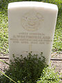 Corporal A Westmoreland gravestone in the Wagga Wagga War Cemetery.jpg