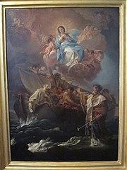 Saint Nicholas rescuing castaways