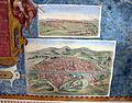 Corridoio delle carte geografiche, piante di siena e di firenze.JPG