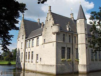 Beveren - Castle of Cortewalle residence of the Lord of Beveren, the Goubau family.