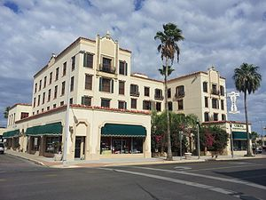 National Register of Historic Places listings in Hidalgo County, Texas - Image: Cortez Hotel 2012 09 13 14 00 10