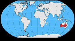 Corvus bennetti map