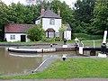 Cottage at Hatton Bottom Lock No 26 near Warwick - geograph.org.uk - 1753258.jpg