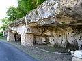 Couze-et-Saint-Front moulin Guilhendoux parking troglodytique.JPG